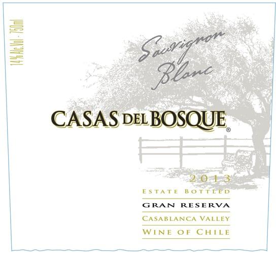 Casas del Bosque Gran Reserva Sauvignon Blanc 2013 Hi-Res Label