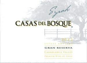 Casas del Bosque Gran Reserva Syrah 2012 Hi-Res Label