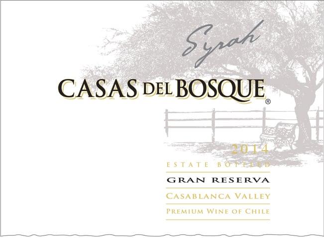 Casas del Bosque Gran Reserva Syrah 2014 Hi-Res Label