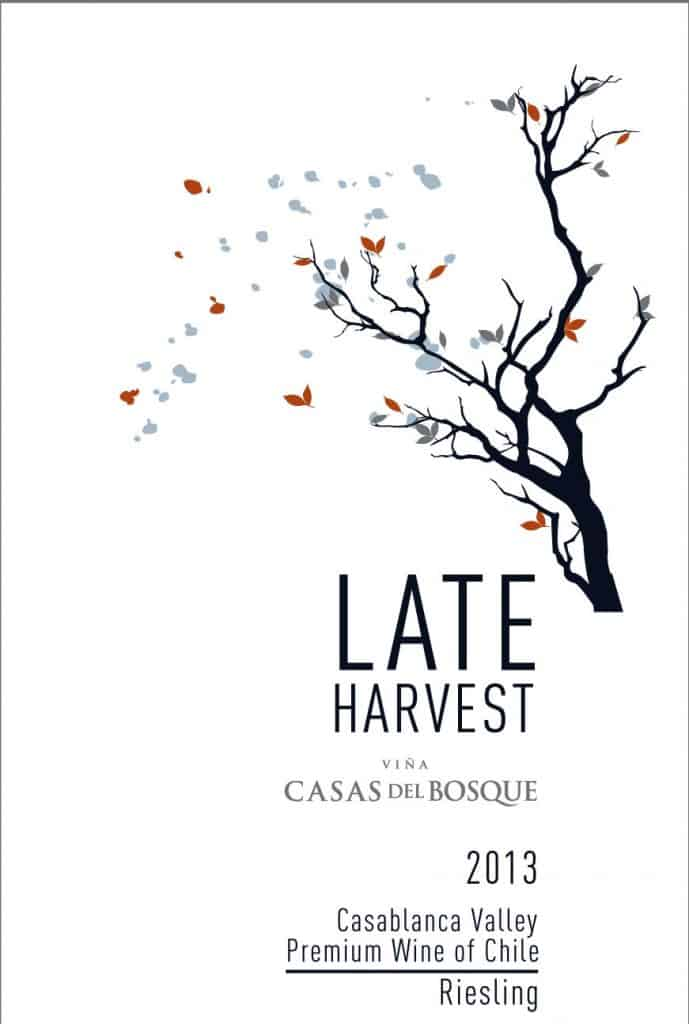 Casas del Bosque Late Harvest Riesling 2013 Hi-Res Label