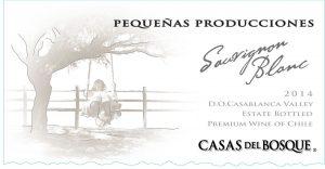 Casas del Bosque Pequenas Producciones Sauvignon Blanc 2014 Hi-Res Label
