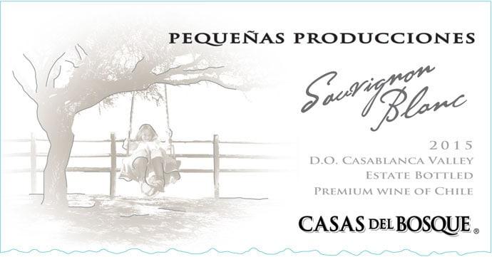 Casas del Bosque Pequenas Producciones Sauvignon Blanc 2015 Hi-Res Label
