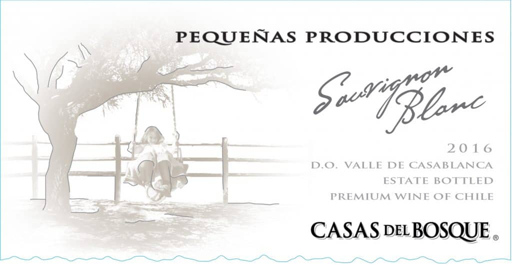 Casas del Bosque Pequenas Producciones Sauvignon Blanc 2016 Hi-Res Label