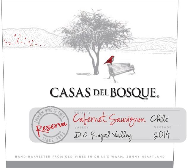 Casas del Bosque Reserva Cabernet Sauvignon 2014 Hi-Res Label