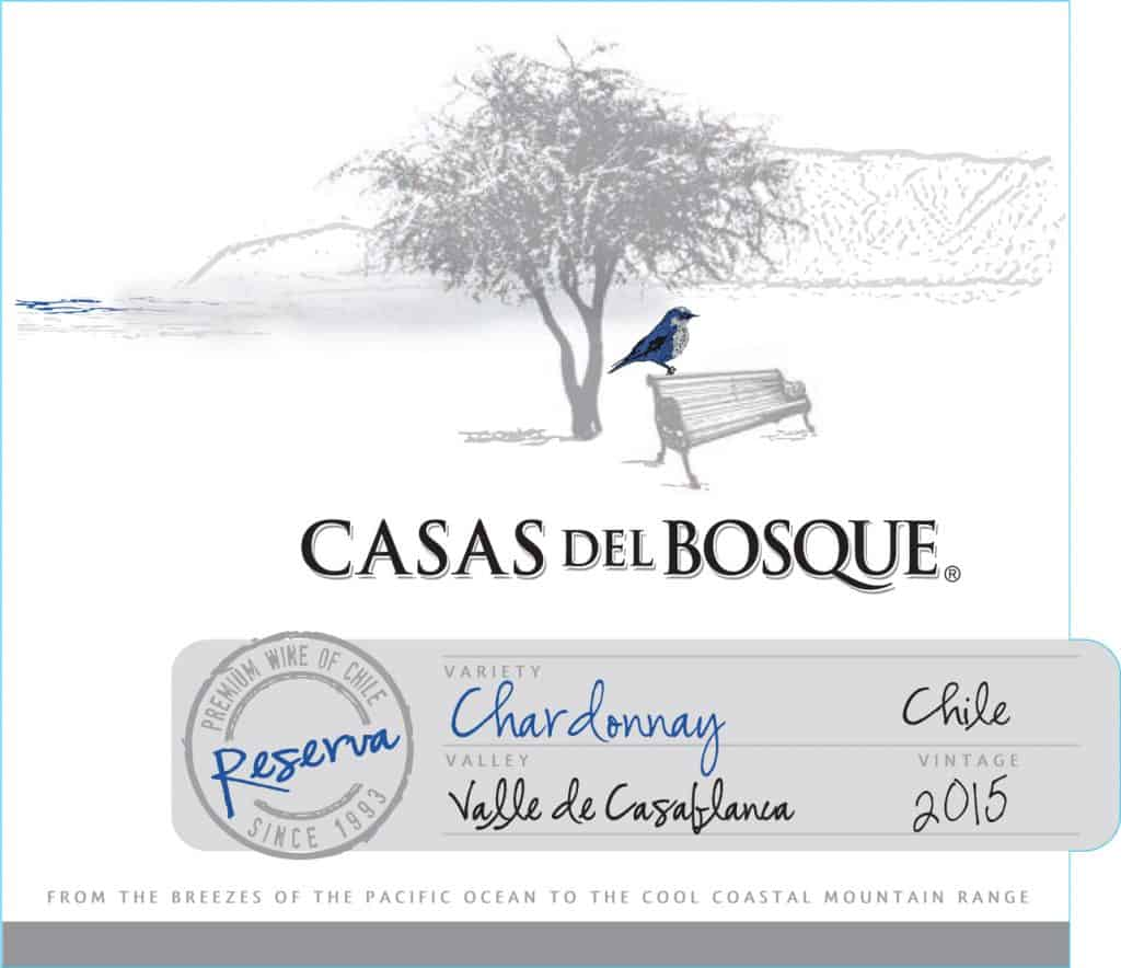 Casas del Bosque Reserva Chardonnay 2015 Hi-Res Label
