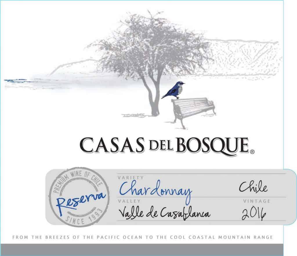 Casas del Bosque Reserva Chardonnay 2016 Hi-Res Label