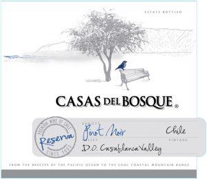 Casas del Bosque Reserva Pinot Noir 2014 Hi-Res Label
