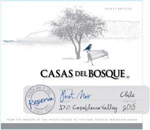 Casas del Bosque Reserva Pinot Noir 2015 Hi-Res Label