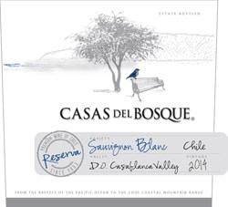 Casas del Bosque Reserva Sauvignon Blanc 2014 Hi-Res Label