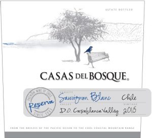 Casas del Bosque Reserva Sauvignon Blanc 2015 Hi-Res Label