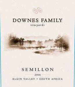 Downes Family Semillon 2016 Hi-Res Label