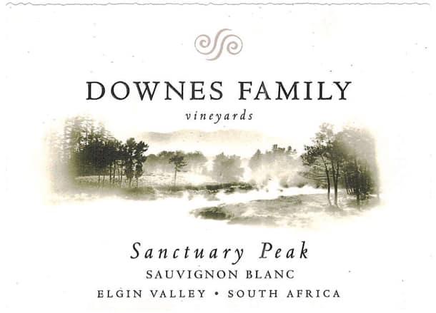 Downes Sanctuary Peak Sauvignon Blanc 2014 Hi-Res Label