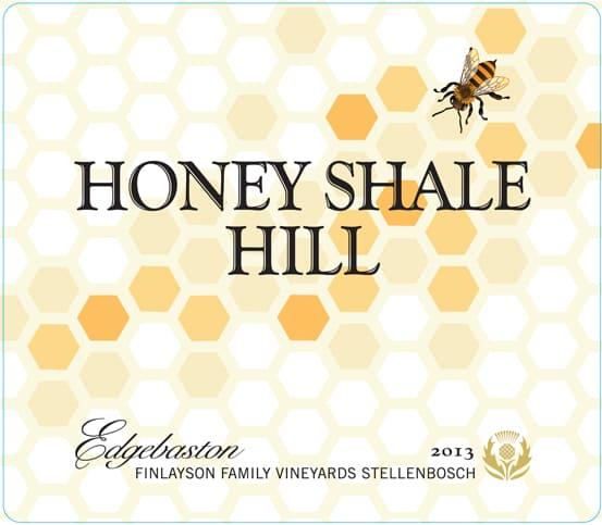 Edgebaston Honey Shale Hill 2013 Hi-Res Label
