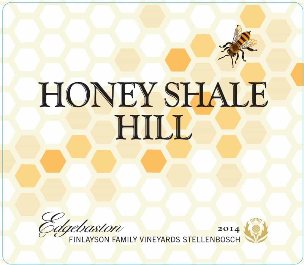 Edgebaston Honey Shale Hill 2014 Hi-Res Label
