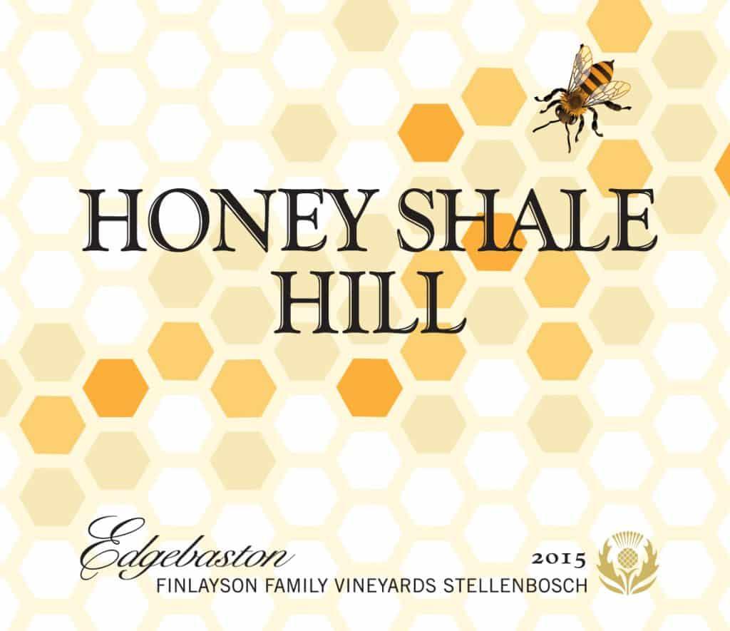 Edgebaston Honey Shale Hill 2015 Hi-Res Label