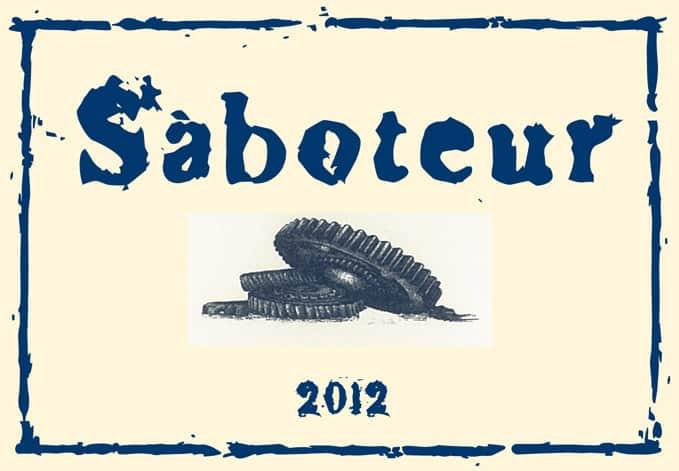 Luddite Saboteur 2012 Hi-Res Label