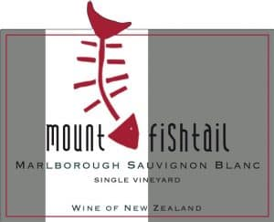 Mt Fishtail Sauvignon Blanc 2013 Hi-Res Label