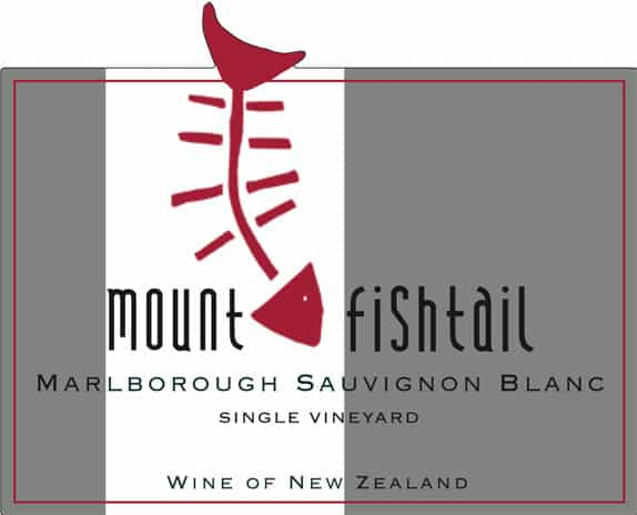 Mt Fishtail Sauvignon Blanc 2014 Hi-Res Label