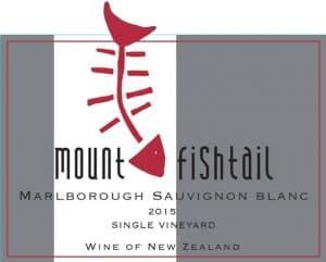 Mt Fishtail Sauvignon Blanc 2015 Hi-Res Label
