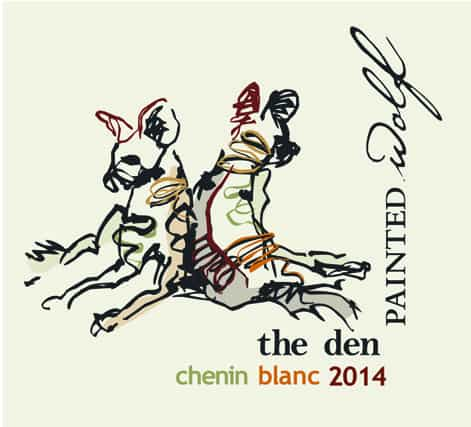 Painted Wolf The Den Chenin Blanc 2014 Hi-Res Label