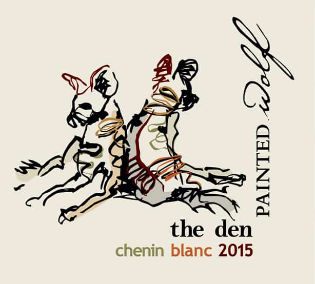 Painted Wolf The Den Chenin Blanc 2015 Hi-Res Label