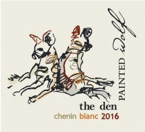 Painted Wolf The Den Chenin Blanc 2016 Hi-Res Label