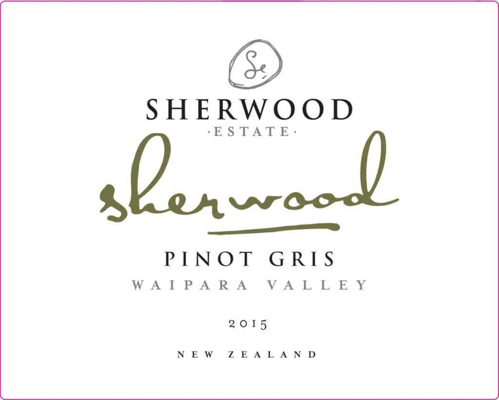Sherwood Pinot Gris 2015 Hi-Res Label