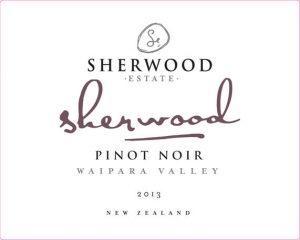 Sherwood Signature Pinot Noir 2013 Hi-Res Label