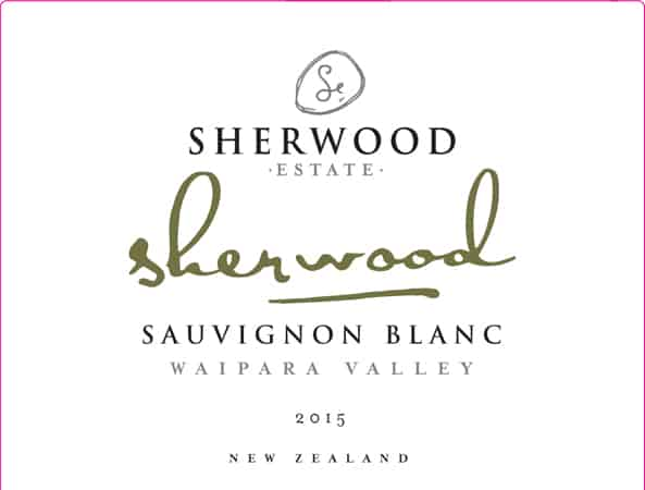 Sherwood Signature Sauvignon Blanc 2015 Hi-Res Label