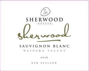 Sherwood Signature Sauvignon Blanc 2016 Hi-Res Label