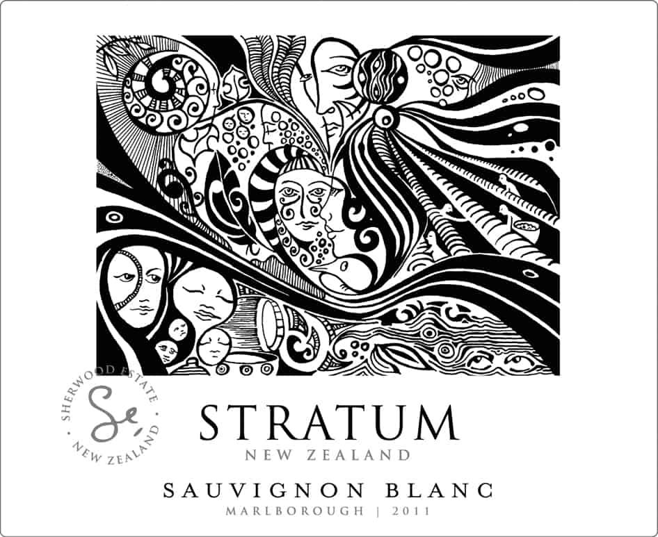 Stratum Sauvignon Blanc 2011 Hi-Res Label