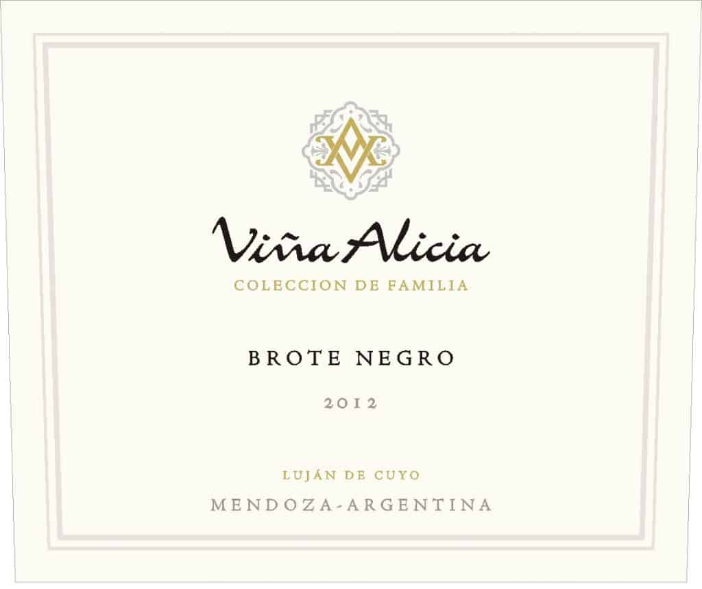 Vina Alicia Brote Negro Malbec 2012 Hi-Red Label