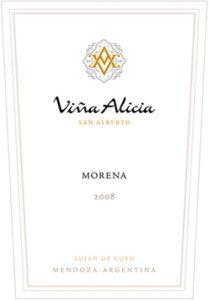 Vina Alicia Morena 2008 Hi-Res Label
