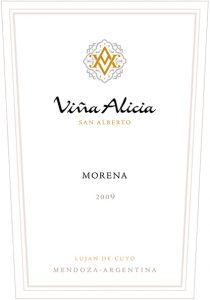 Vina Alicia Morena 2009 Hi-Res Label
