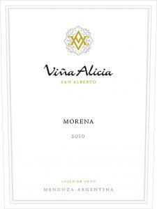 Vina Alicia Morena 2010 Hi-Res Label