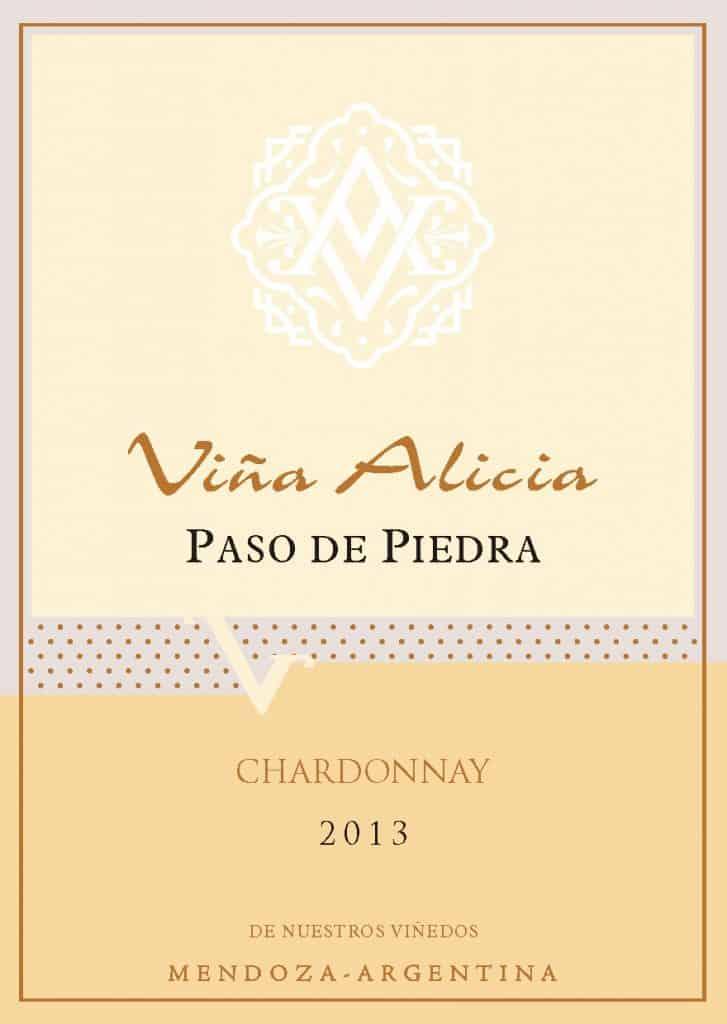 Vina Alicia Paso de Piedra Chardonnay 2013 Hi-Res Label