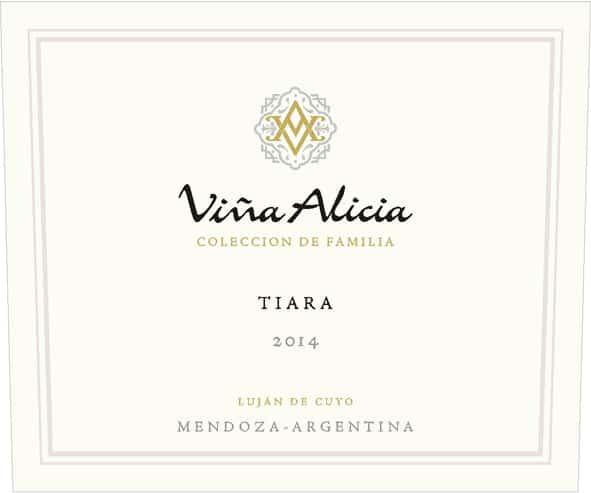 Vina Alicia Tiara 2014 Hi-Res Label