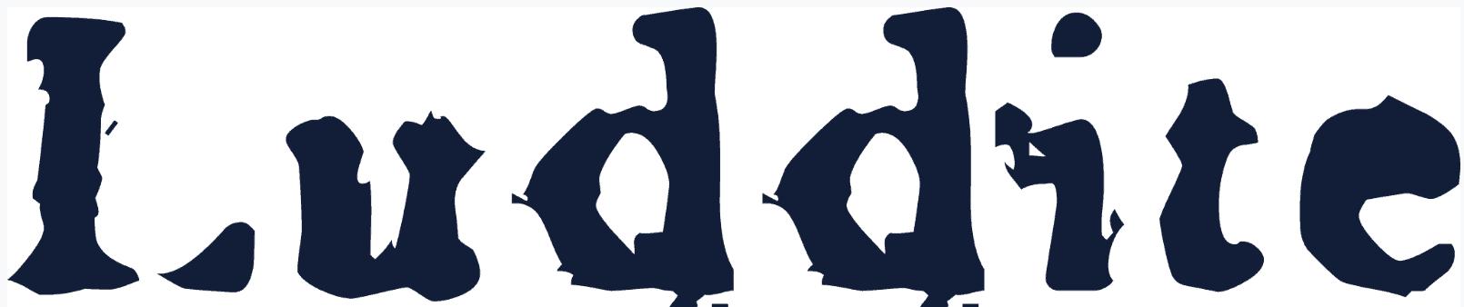 Luddite Logo