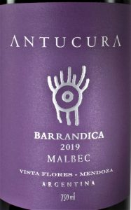 Antucura BARRANDICA MALBEC 2019