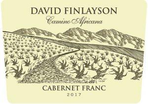 David Finlayson Camino Cabernet Franc 2017 Front