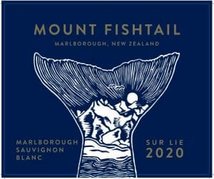 Mount Fishtail Sur Lie Sauvignon Blanc 2020 front