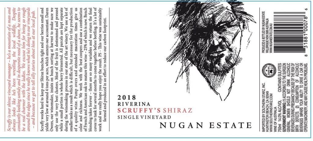 Nugan Scruffys Shiraz 2018