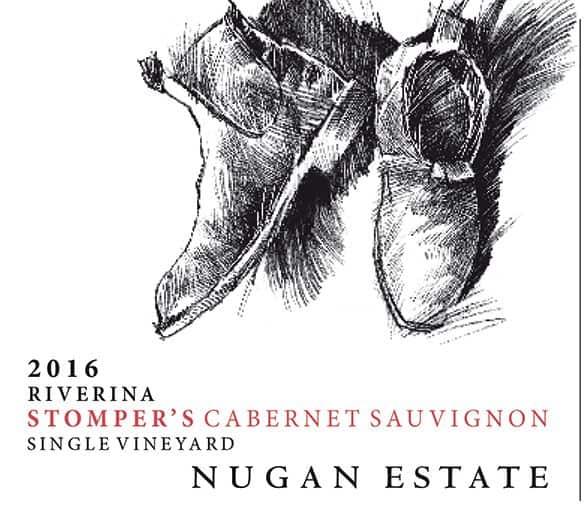 Nugan Stompers Cabernet Sauvignon 2016 front