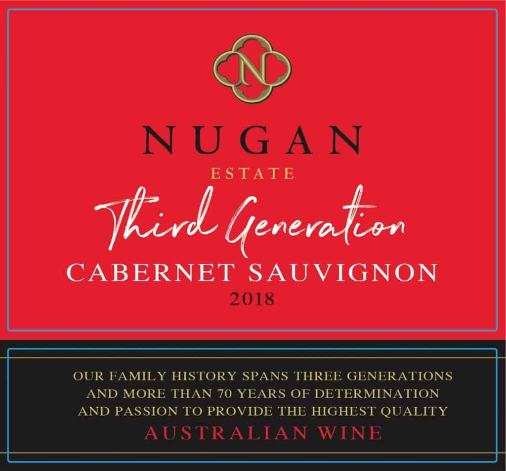 Nugan Third Generation Cab Sauv 2018 front