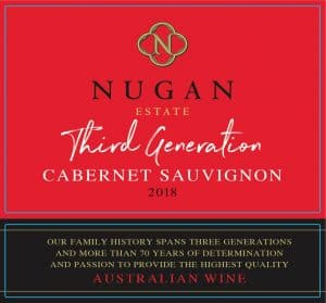 Nugan Third Generation Cab Sauv 2018 front