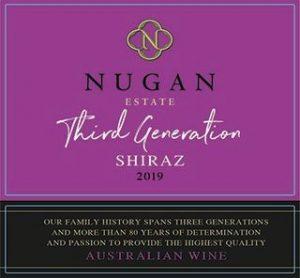 Nugan Third Generation Shiraz 2019 front