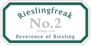 Rieslingfreak No 2 Riesling 2020 front label