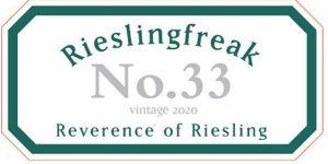 Rieslingfreak No 33 2020 front
