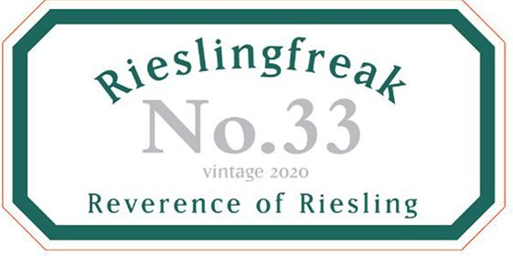 Rieslingfreak No 33 2020 front