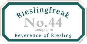 Rieslingfreak No 44 Eden Valley 2020 front